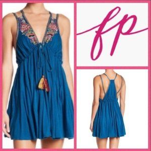 Free People Lovers Cove Mini dress